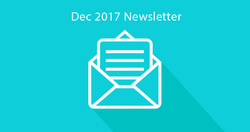Pearce In-House Newsletter – December 2017
