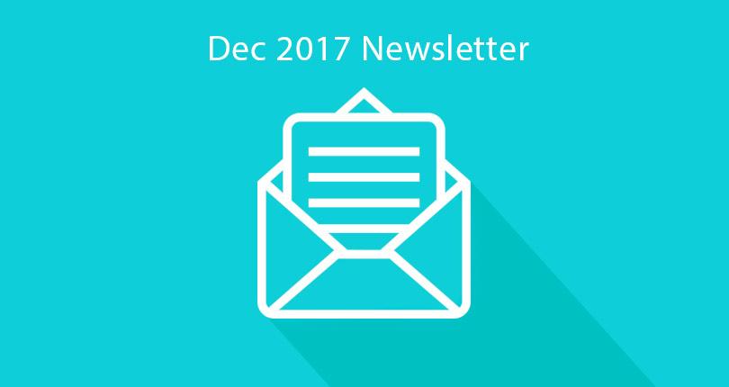 Pearce In-House Newsletter – December 2017