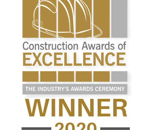 Pearce Construction Wins UK Housebuilder of the year (Over 35 units/yr)